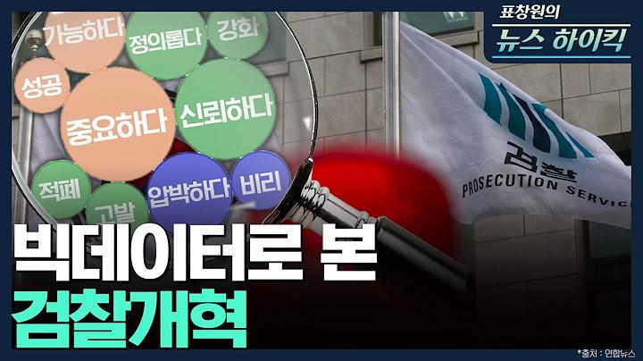 [표창원의 뉴스 하이킥] 빅데이터로 본 검찰개혁 - 배종찬 & 전민기  | MBC 210504방송