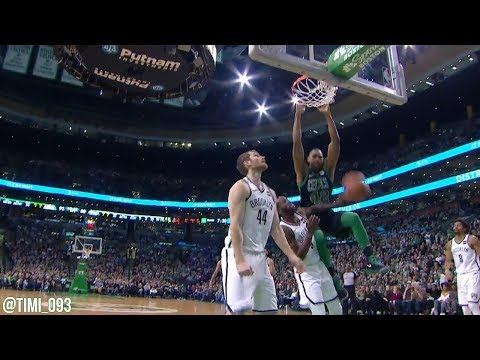 Al Horford Highlights vs Brooklyn Nets (10 pts, 10 reb, 5 ast, 3 blk)