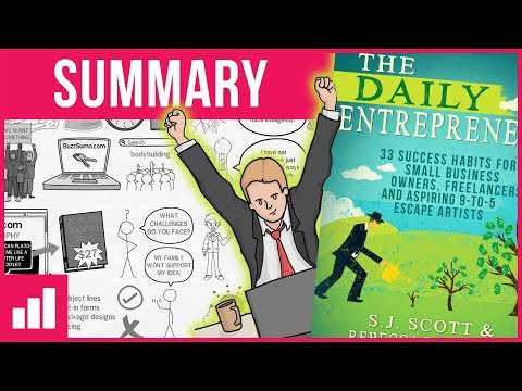 The Daily Entrepreneur by Steve Scott (1/6) ► How to Become an Entrepreneur