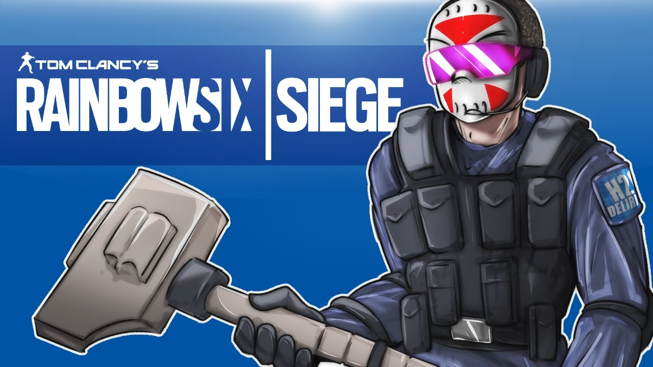 Rainbow Six: Siege - Seriouslirious mode! (Full Match ... H20 Delirious