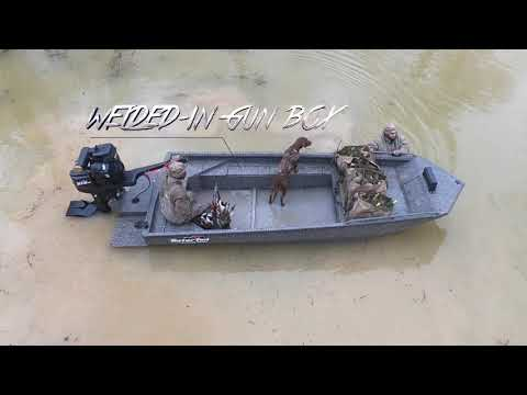 GatorTail Savage Series Mid Deck | Duck Hunting Boat Gator Tail