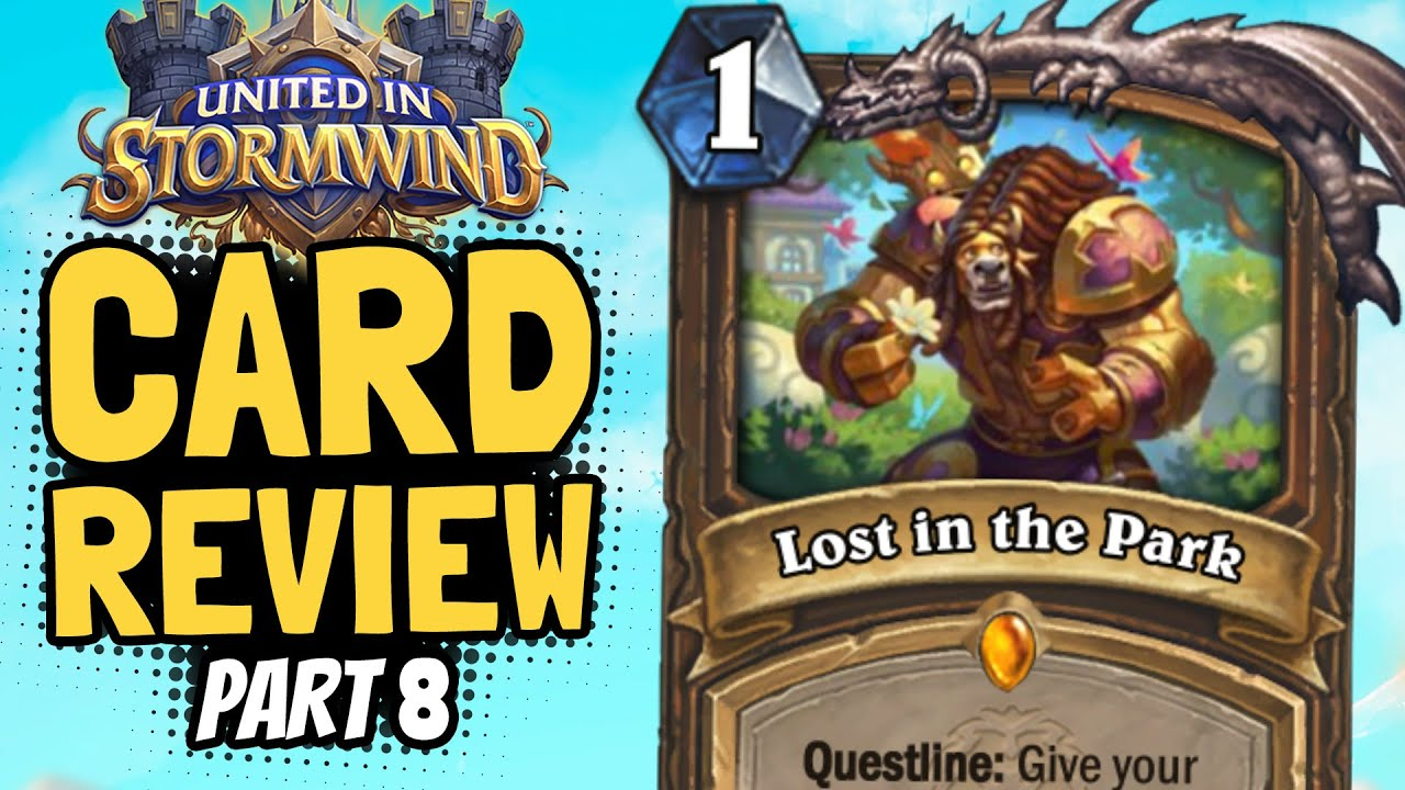 New cards. | Stormwind Review #8