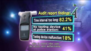TVB Pearl News Drink Driving Report 17 Apr 2013