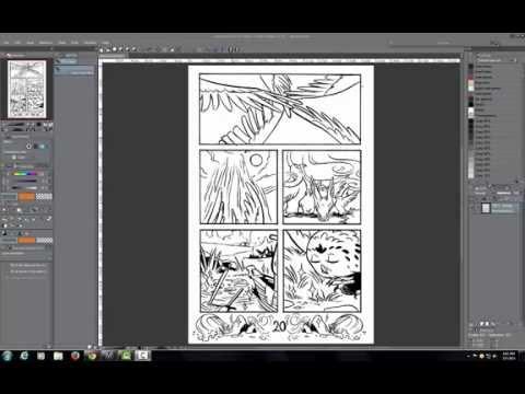 Rob Torres Art - Manga Studio Line Art Separation Tutorial