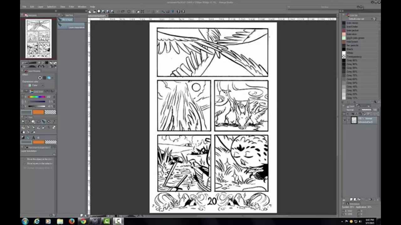 Line Art Photo Tutorial : Rob torres art manga studio line separation tutorial youtube