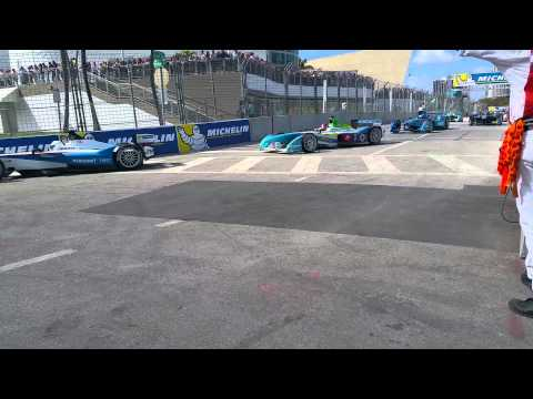 Miami Formula E ePrix March 15th starting fake grid