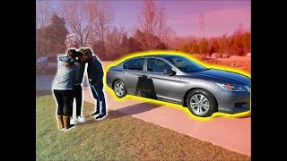 GETTING SURPRISED WITH A NEW CAR FOR CHRISTMAS! *emotional*