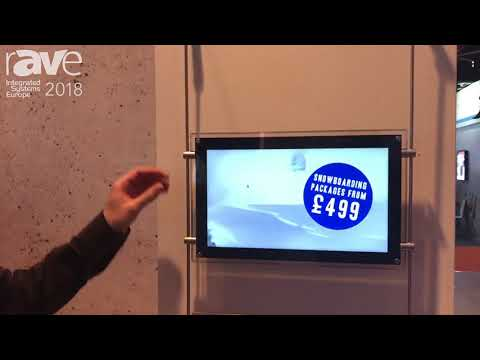 ISE 2018: Allsee Technologies Features Rod Mount Display Solutions with Content Management System