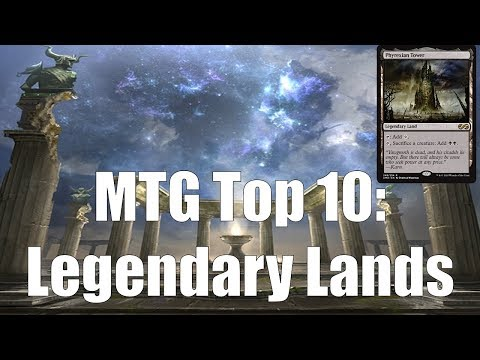 EXCLUSIVE Ultimate Masters Preview Card + MTG Top 10: Legendary Lands