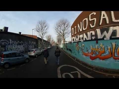 East London Graffitti Street er injected