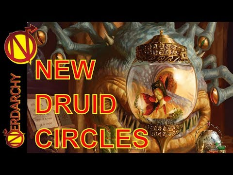 NEW Druid Circles- Xanathar's Guide to Everything for 5E D&D