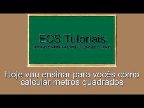 AULA DE MATEMÁTICA - como calcular metros quadrados