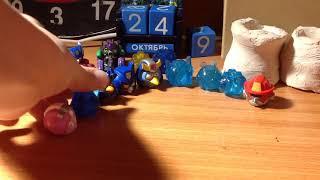 Angry birds transformers. 2 серия. Отжимания.