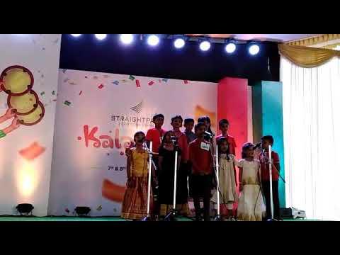 Vithumbum Kunju Manasil Group Song By Sub Juniors Category