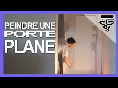 Tuto comment peindre une porte plane comme un pro youtube for Comment decorer une porte plane