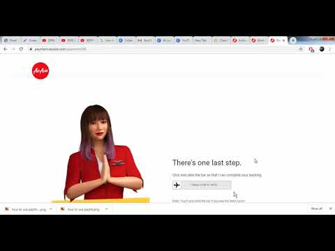 How To Web Check In Air Asia
