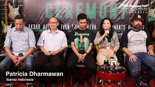 Ibanez Flying Fingers 2017 - Ceremony & Press conference