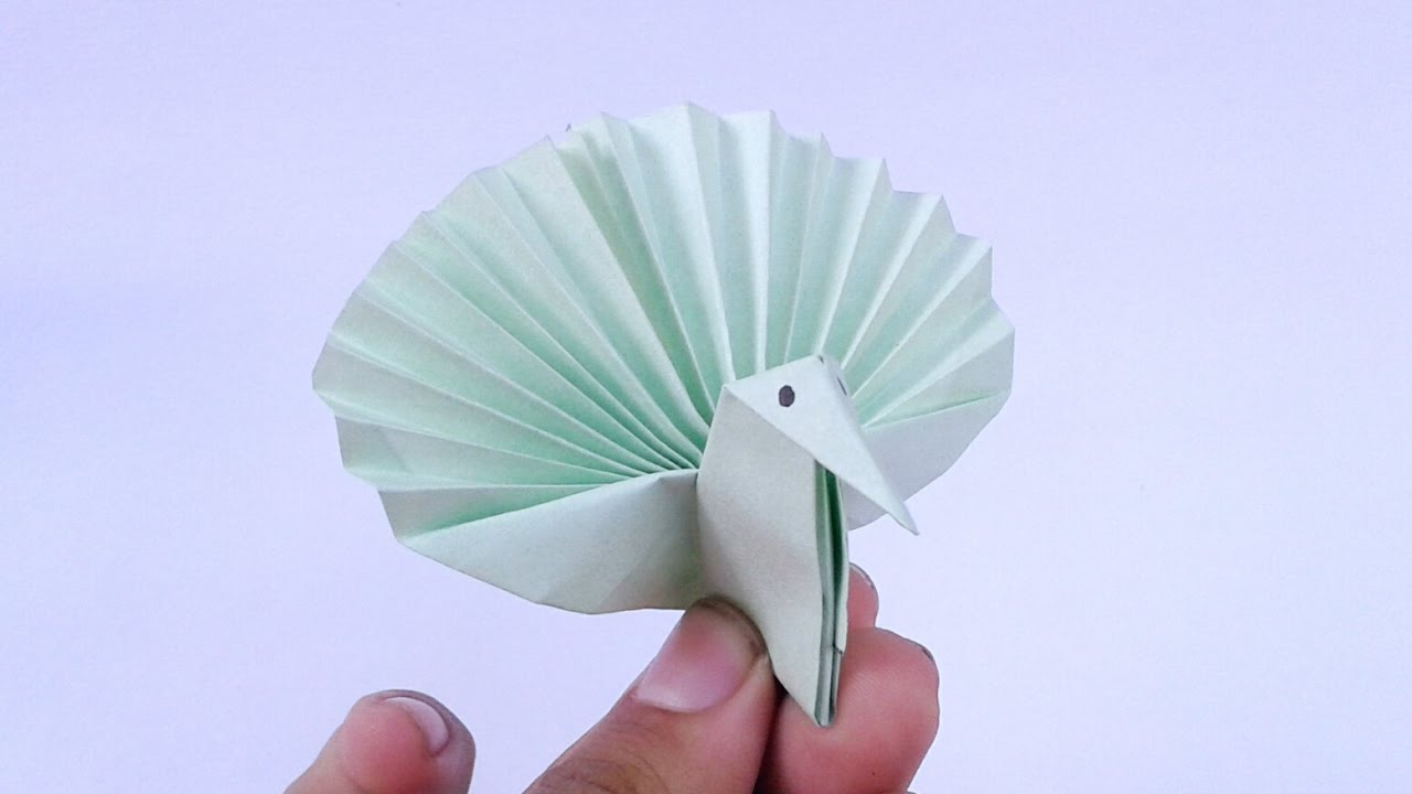 Origami Peacock Instructions Step By Easy Bird