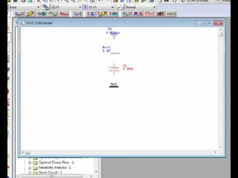 Learn How To Creating A One Line Diagram In Etap 11 Youtube