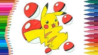 Pikachu Resim Boyama Etiketli Videolar Videobring