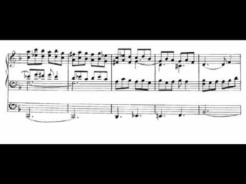 Marcel Dupré: ANTIPHON V - How Fair and how Pleasant art Thou