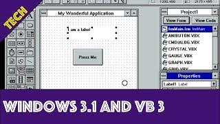 Windows 3.1 and Visual Basic 3
