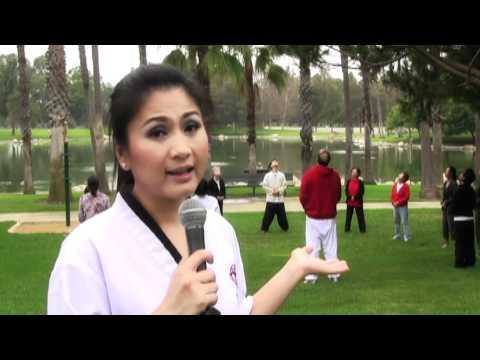 Asia Channel : Tâm Đoan & Đoàn Phi tập Dahn Yoga