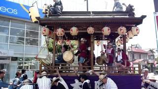2010年7月24日に行われた、行田浮き城祭りの様子、その2です。 山車(だ...