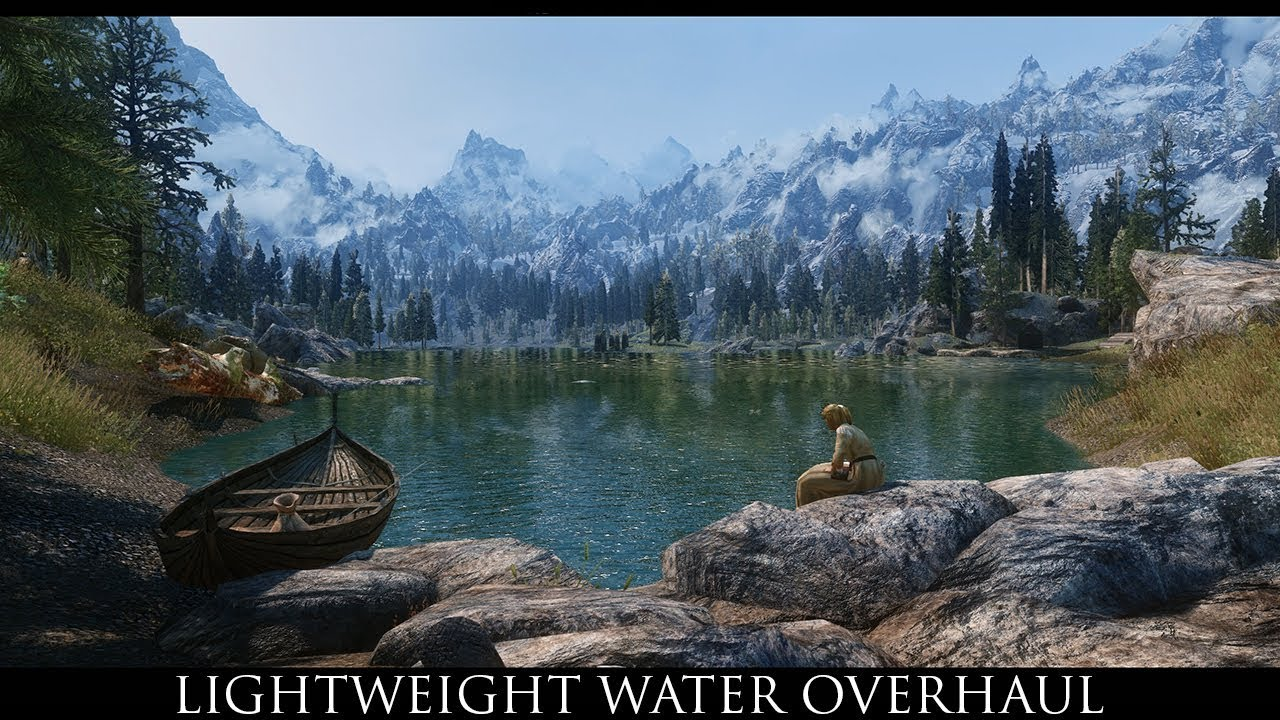 Skyrim SE Mods -  Lightweight Water Overhaul