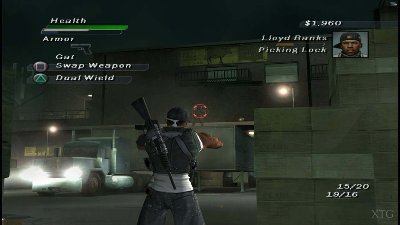50 Cent Bulletproof Ps2 Gameplay Hd Pcsx2 Youtube