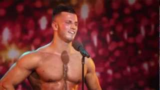Belgium's got Talent - Bodybuilding act - Erko Jun