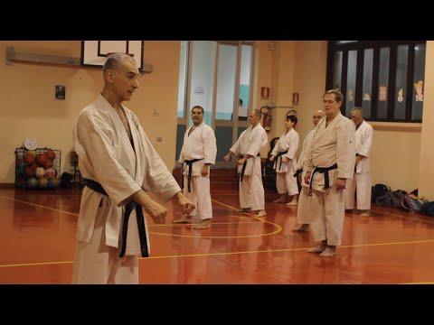 Il Maestro Fugazza allo Students' Karate Club (40° Anniversario)