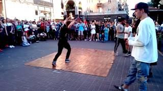 Танцы vs Батлы. Крещатик. Киев часть 4