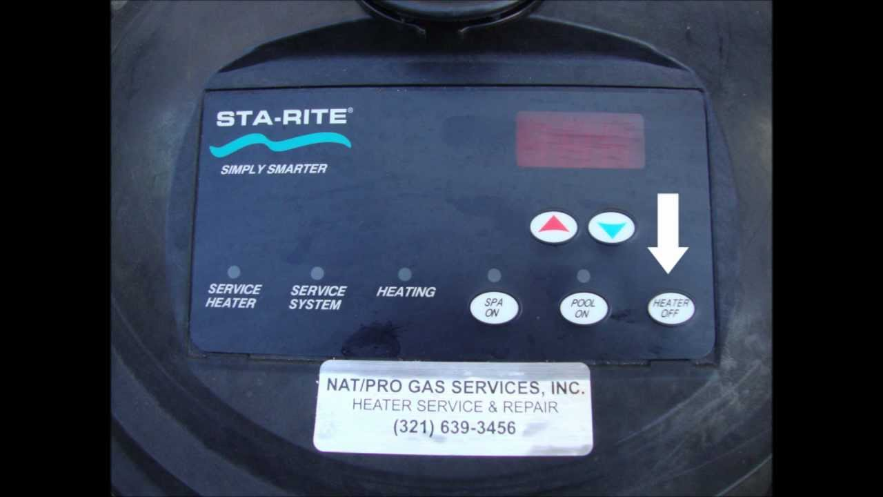STA-RITE Max-E-Therm Low 400 Pool and Spa Heater - YouTube