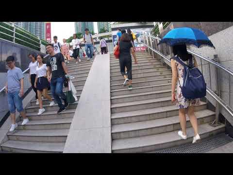 Guangzhou China Metro Walk to Shamian Island part 1