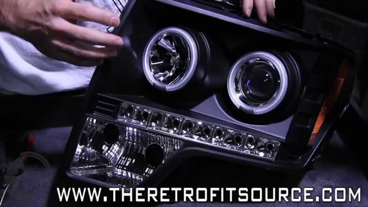 TRS Tech: Upgrading Spyder / Spec D Projector Headlights with Bi-xenon  Morimoto System