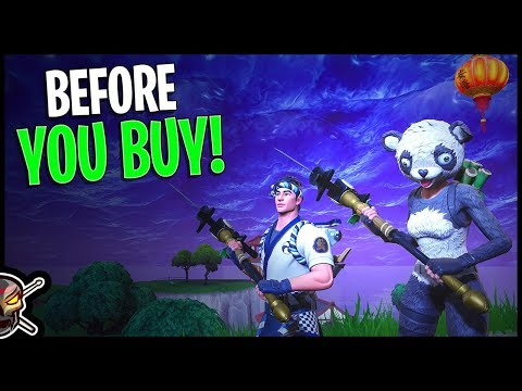 P.A.N.D.A Team Leader | Sushi Master | Filet Axe | Flying Fish - Before You Buy - Fortnite