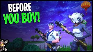 P.A.N.D.A Team Leader   Sushi Master   Filet Axe   Flying Fish - Before You Buy - Fortnite
