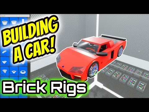 How To Build A Car In Brick Rigs Tutorial 2018 | NOOB TEACHES NOOBS! | Brick Rigs Gameplay