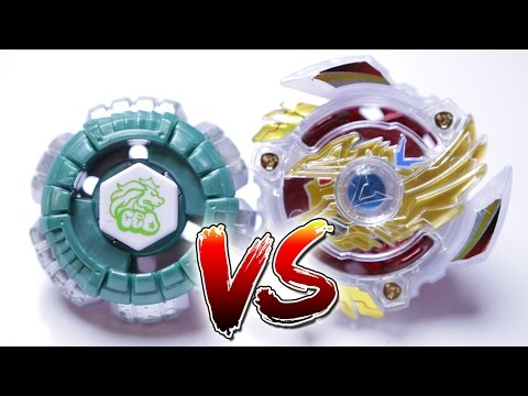 BEYBLADE BATTLE | Legend God Bey Victory Valkyrie (BURST) VS Counter Leone (METAL)