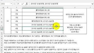 [컴퓨터활용능력2급실기] 초단기1주 완성 계획표,202…