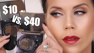 $10 EYEBROW KIT vs. $40 EYEBROW KIT | Wear Test