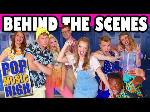 Behind the Scenes of Pop Music High New Song School