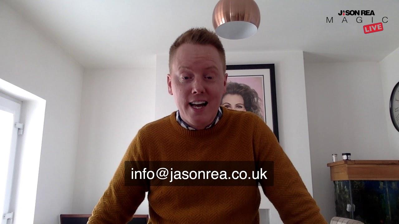 Jason Rea Magic - Live 23rd March 2020
