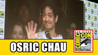Osric Chau Crashes Supernatural Comic Con Panel!