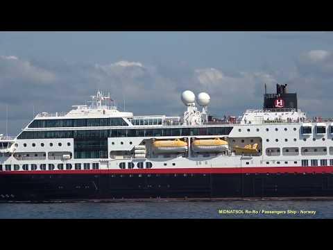 MIDNATSOL Departure from La Coruna ES towards Leixoes PT  19 September 2017