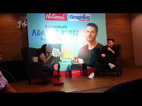 Adam J Kurtz in Manila - February 2, 2018