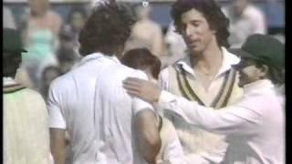 Imran Khan 10 for 77 vs England 3rd test 1987 Leeds
