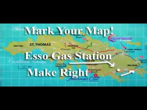 Video of Map of St. Thomas USVI: RentaMotion.com - YouTube