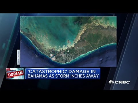 Big Rig - Dorian Storm Surge Buried HALF Of Grand Bahama According To Satellite